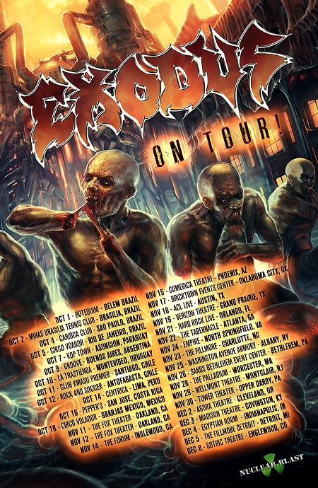 Exodus Tour 2014