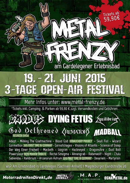 Metal Frenzy Open Air 2015