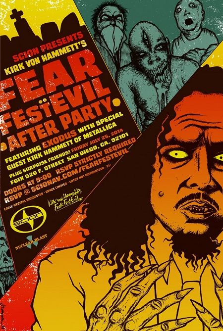 Fear FestEvil - San Diego, CA flyer