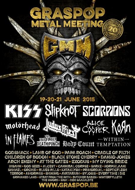 Graspop Metal Meeting 2015