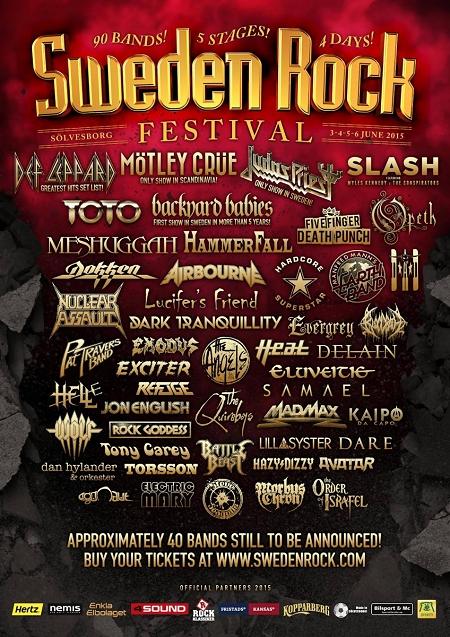 Sweden Rock Fest 2015