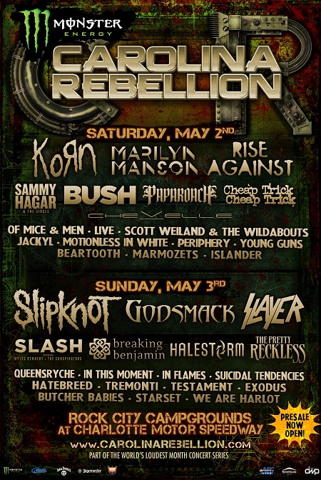 Carolina Rebellion 2015