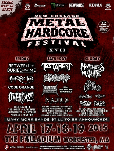 New England Metal & Hardcore Fest 2015