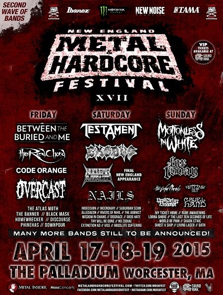 New England Metal & Hardcore Fest 2015