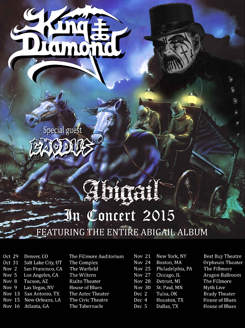 King Diamond 2015 Tour