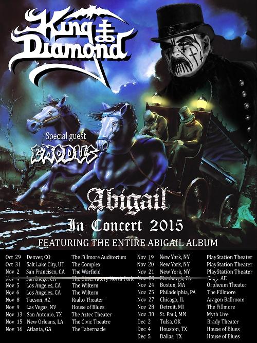 King Diamond 2015 Tour
