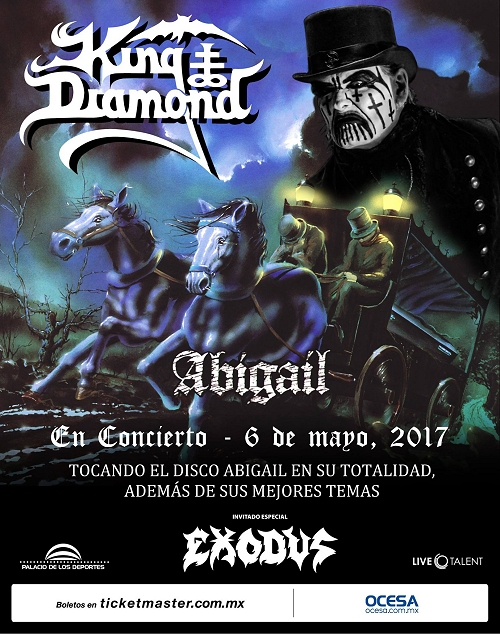 King Diamond in Mexico City