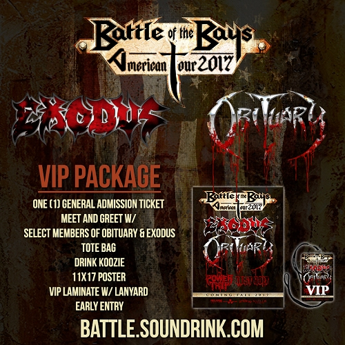 Battle Of The Bays American Tour VIP