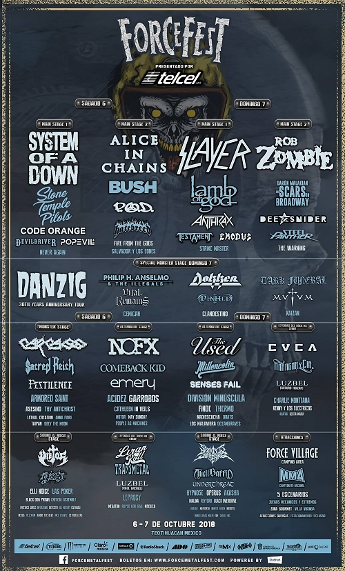 Force Metal Fest 2018