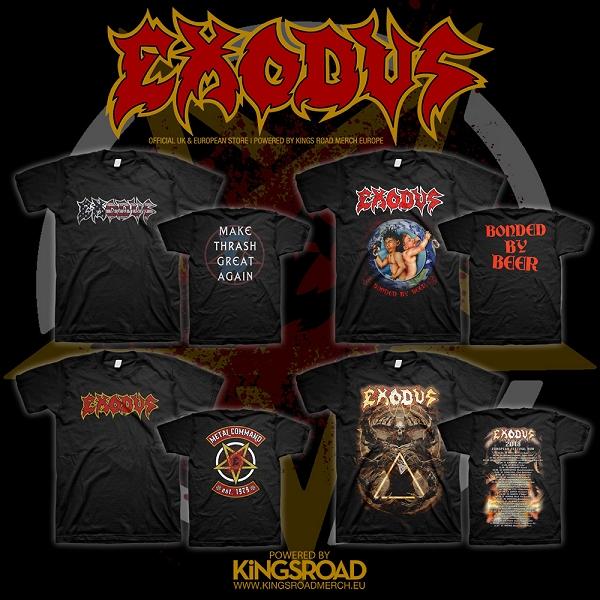 Exodus Merch @ Kingsroad